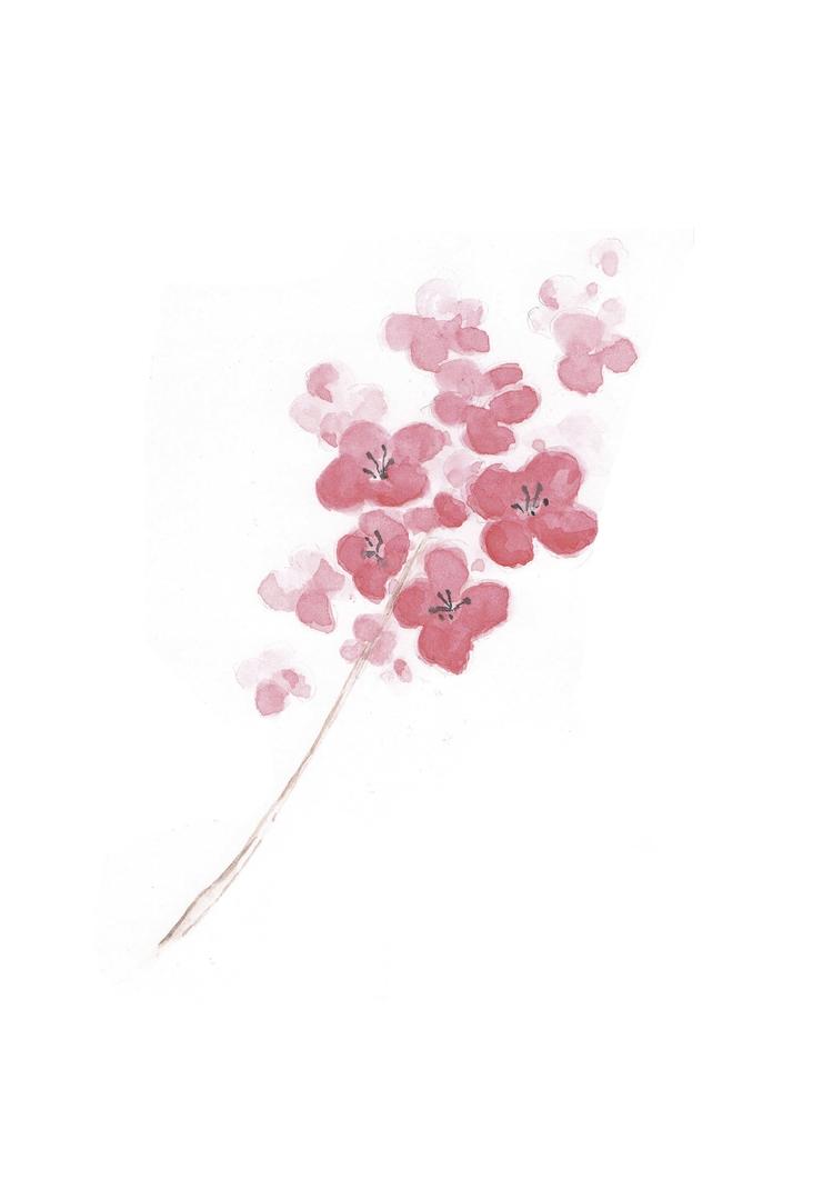 Watercolor flowers - lucascacco | ello