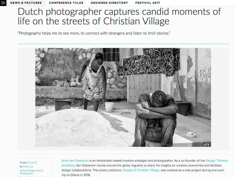 proud photographs Ghana feature - arnevanoosterom | ello