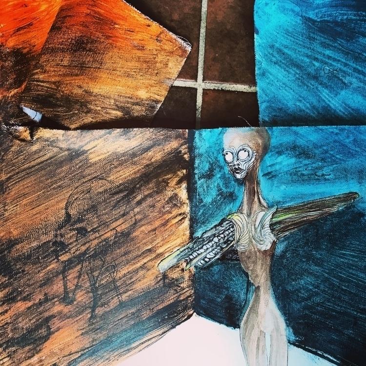free, illustration, destruction - sarjon_art | ello