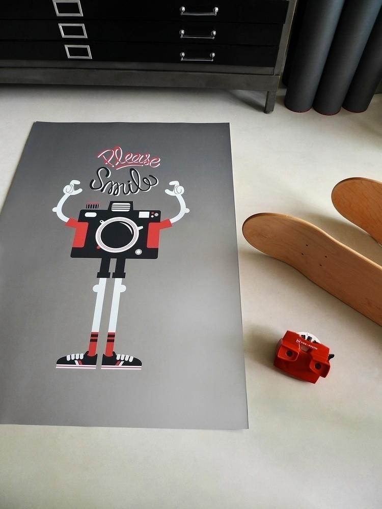 Dezzig Studio WoodCampers print - dezzig | ello