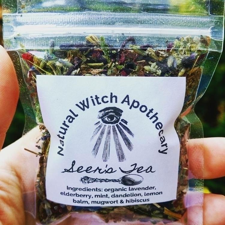 :eye:️ Tea Blend  - divination, elevation - naturalwitchapothecary   ello