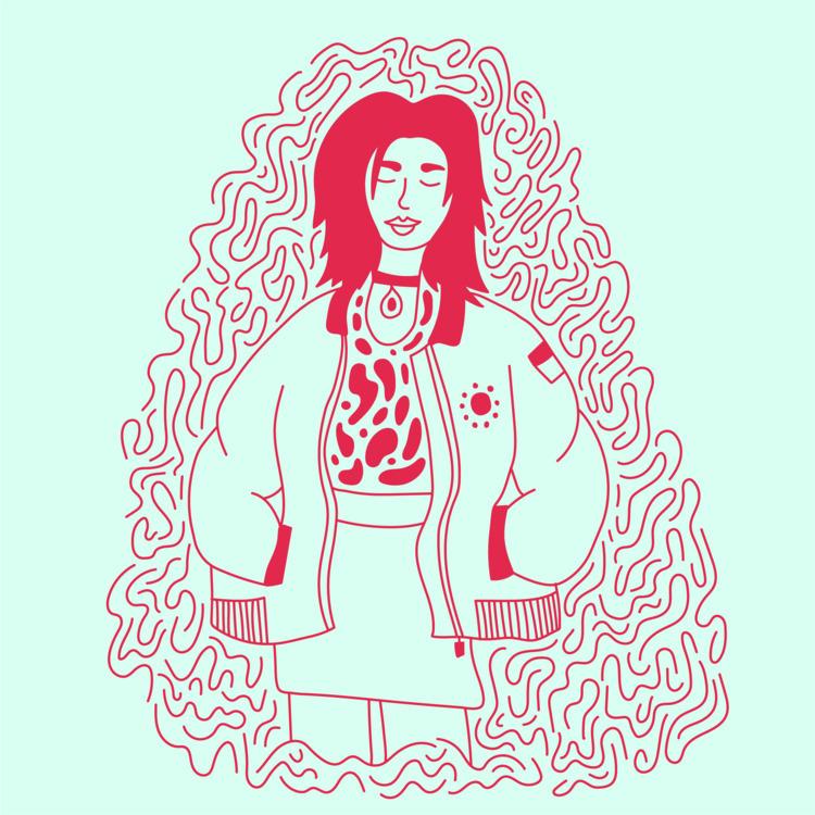 Comfy threads - illustration, illustrator - heybop | ello