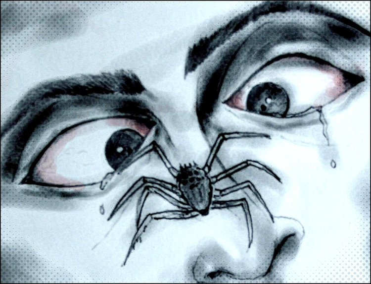 nightmares alive legs - spiders - bordermind | ello