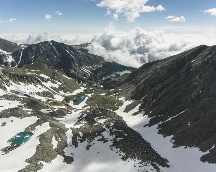 peak Southern Arapaho Peak - summer - andrewwee | ello