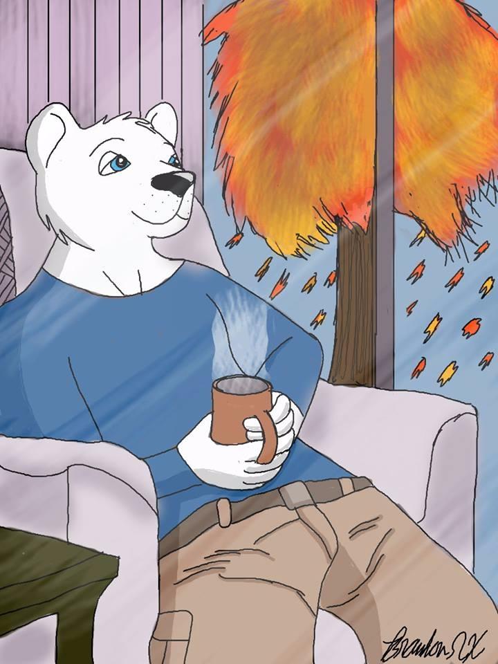 Arthur Frost Polar Bear Autumna - brandon_omega-x | ello