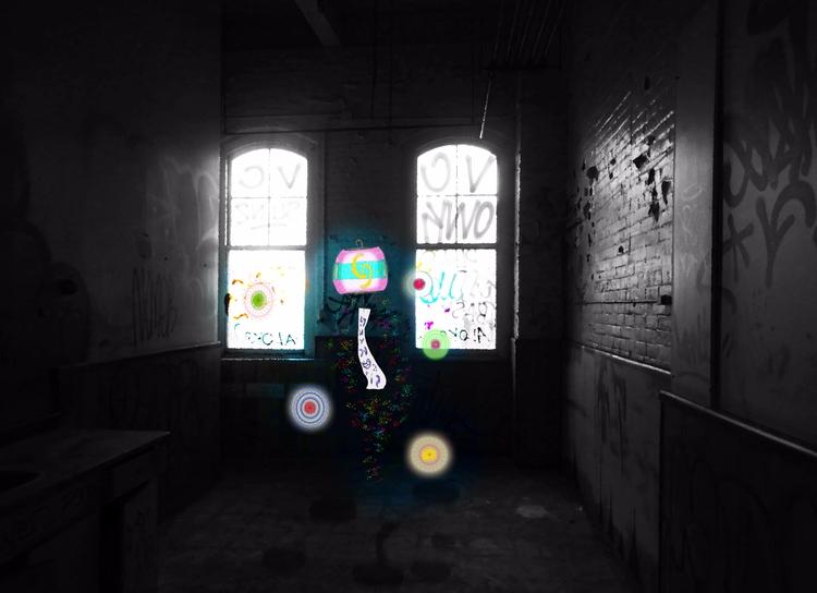 Stumbled Lantern background 2 l - mangekkojones | ello
