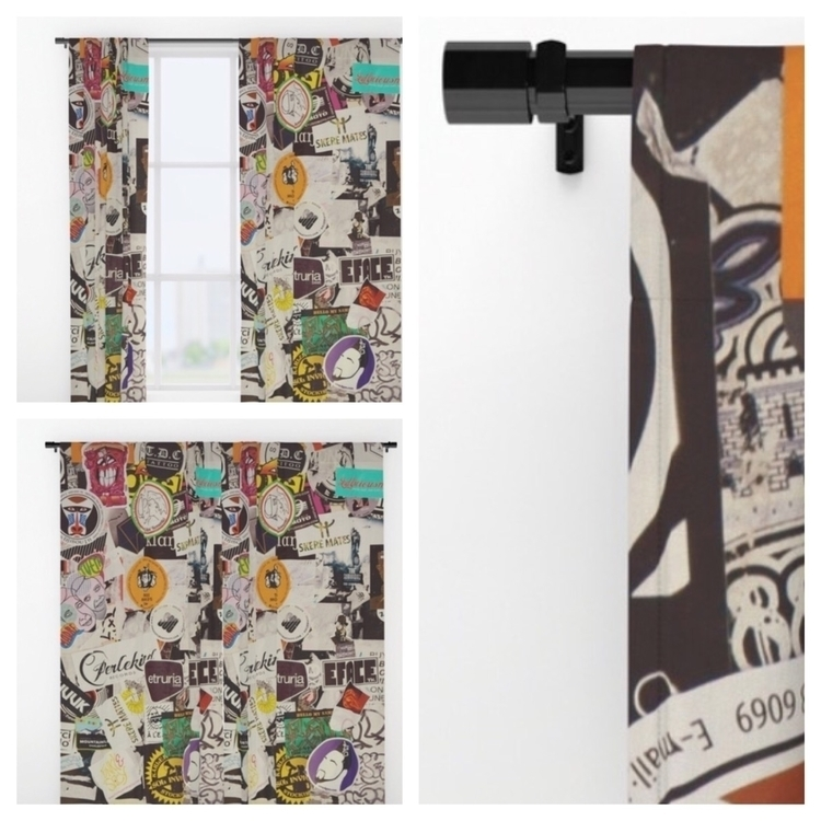 City tags window curtains - homedecor - trinkl | ello