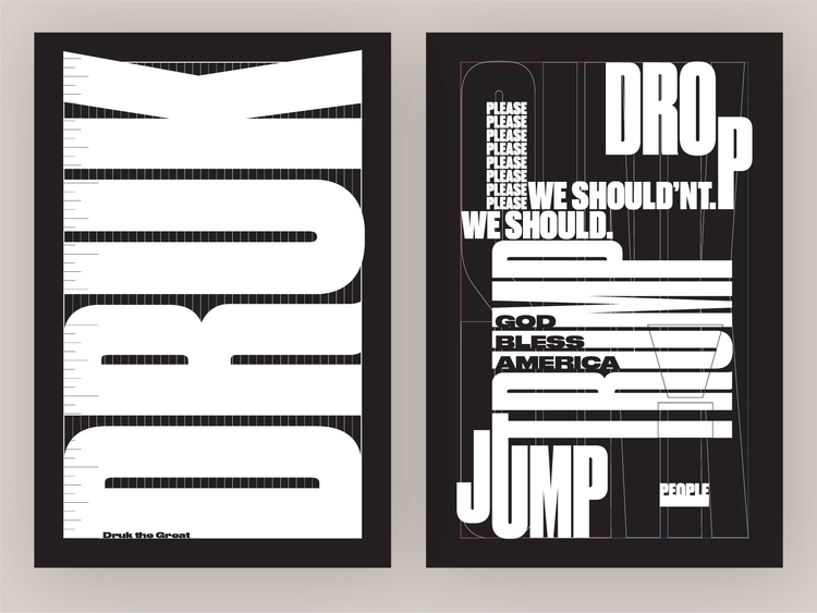 Type Specimen Poster Series - 1 - vnthony | ello