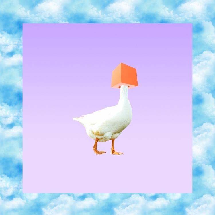 < > Lonely duck - design, animal - valenvq | ello