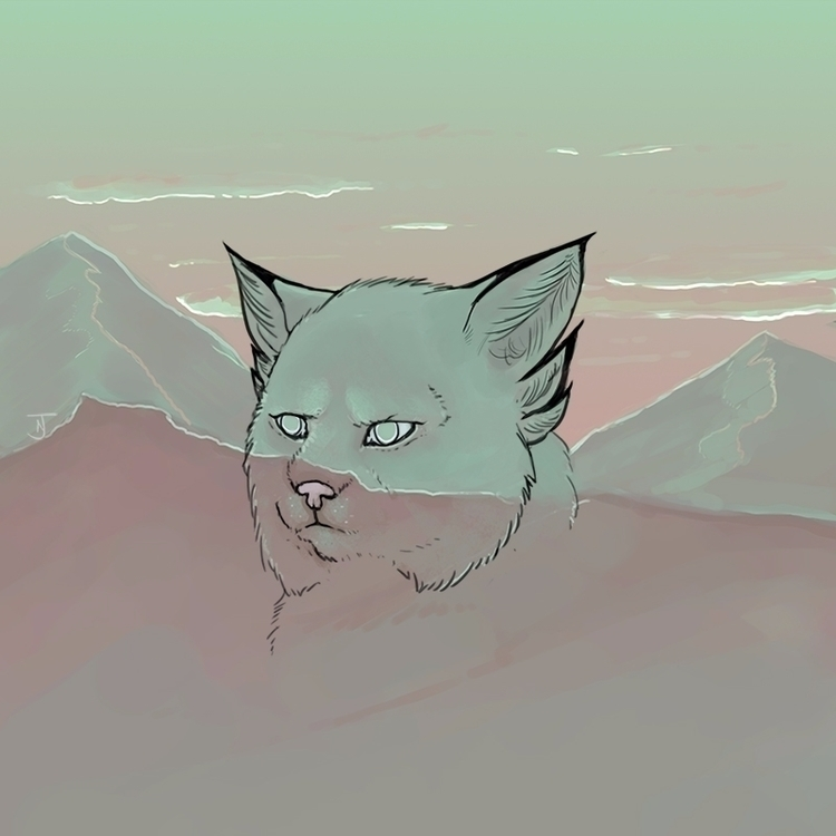 MARS - catdrawing, wacom - collectingcats | ello