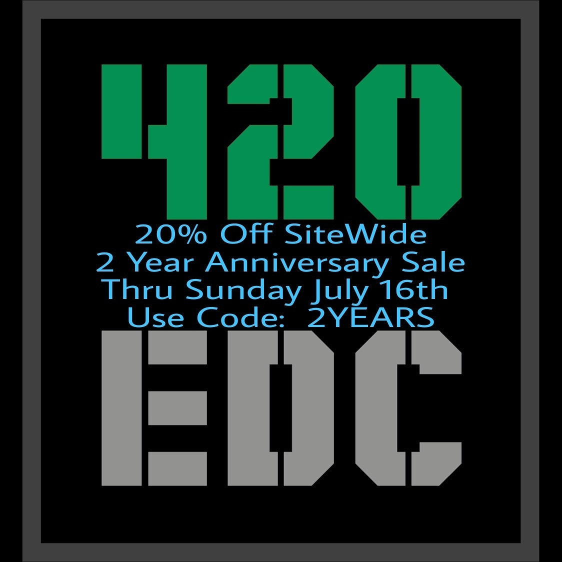 loyal supporters!! 2 Years Save - 420edc | ello