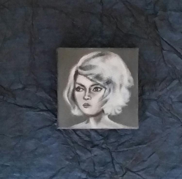 Mini portrait Debbie Harry Amer - nora_ | ello