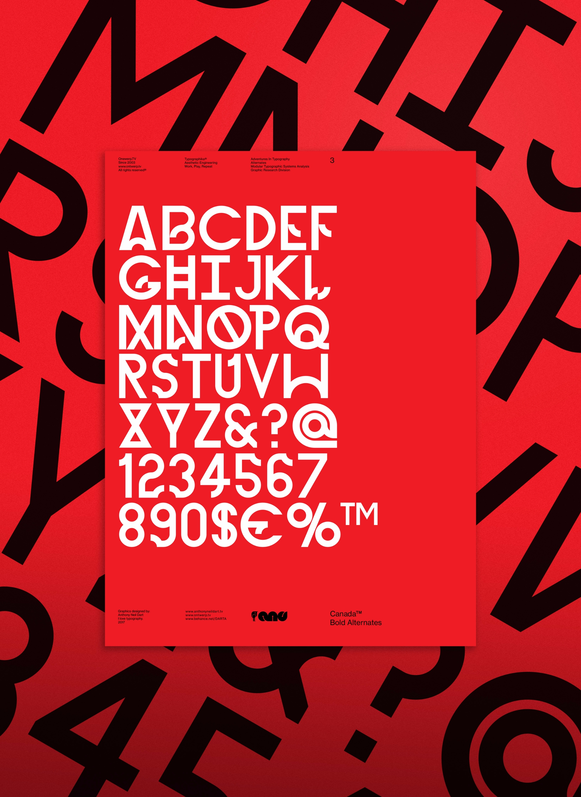 Typographika - typographic seri - anthonyneildart | ello