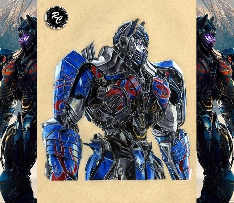 Optimus Prime drawing account  - rossi_arts | ello