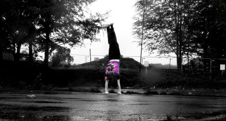 Rainy Chance Pretentious Black  - malcolmcrowther   ello