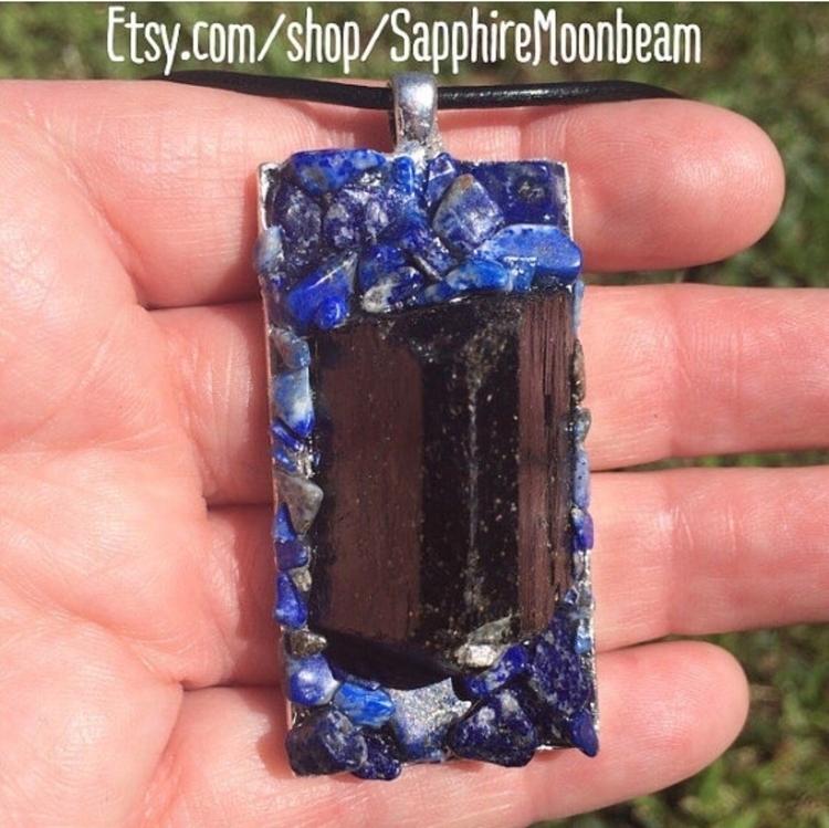 Black Tourmaline powerful heali - sapphiremoonbeam   ello