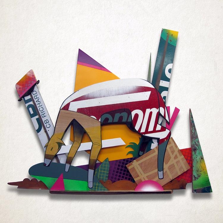 Economy Eats Acrylic paint, spr - lovercraft | ello