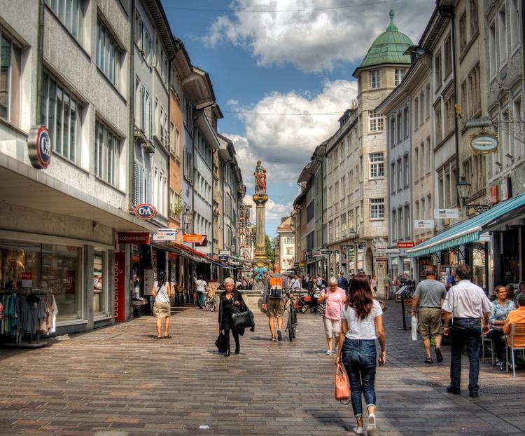 Marktgasse Winterthur - main st - neilhoward | ello