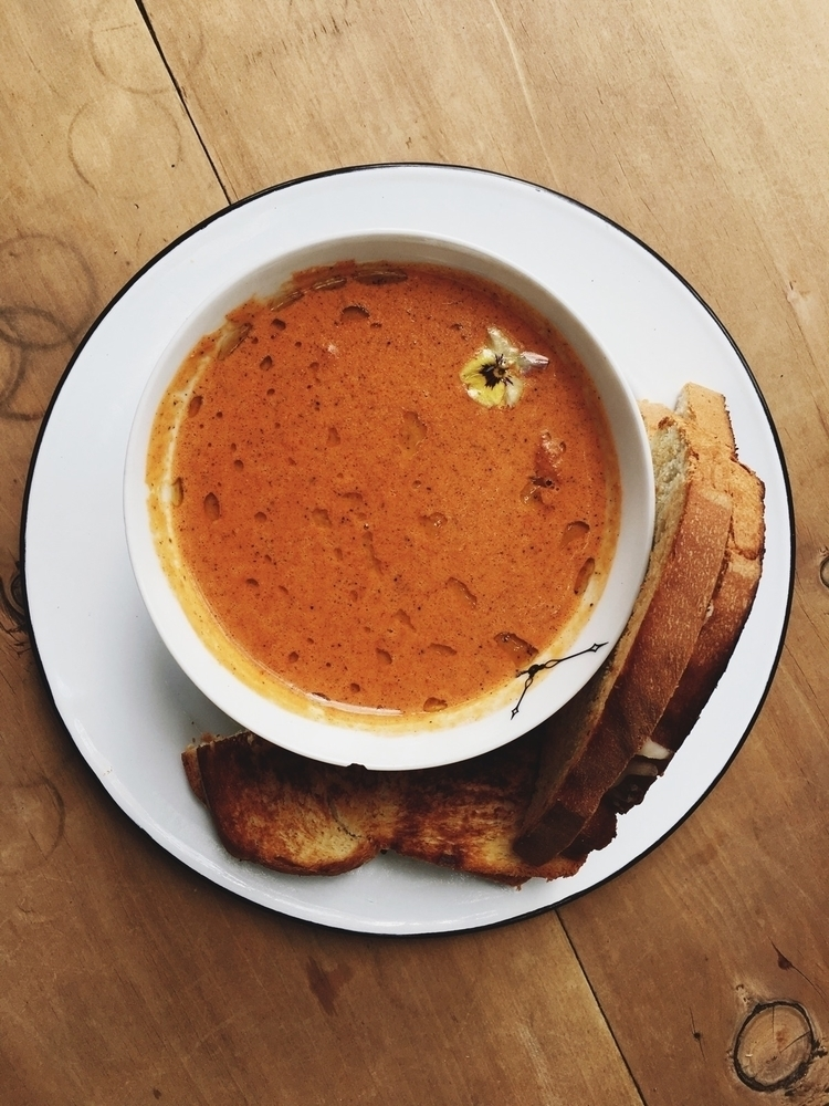Crema de tomate - food, tomatoe - davidtiquet | ello