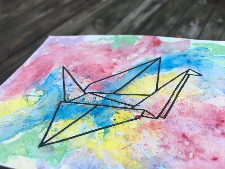 Origami Crane. Avalible Etsy Sh - ihtzjennifer | ello