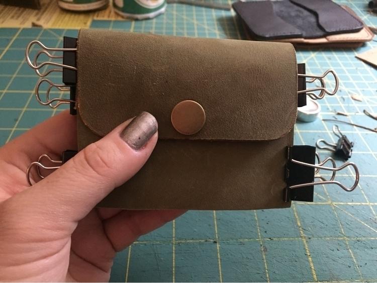 Working lil - leatherwork, leatherworking - twinflameleatherco | ello