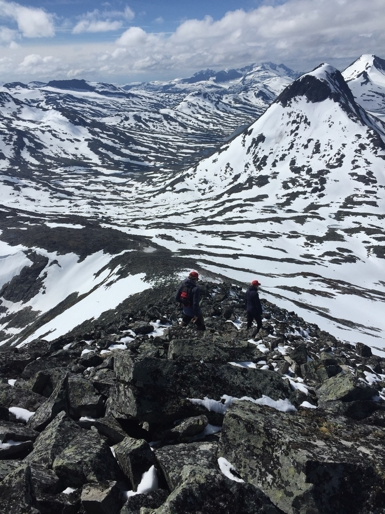 lots snow mountains mid July. P - thlovold | ello