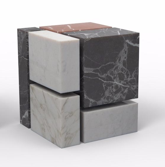 Marble Cube, 2017 Gautier Berth - gautierberthoumieux   ello