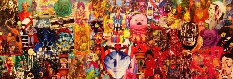 geekArt collage - videogames, color - fredzy | ello