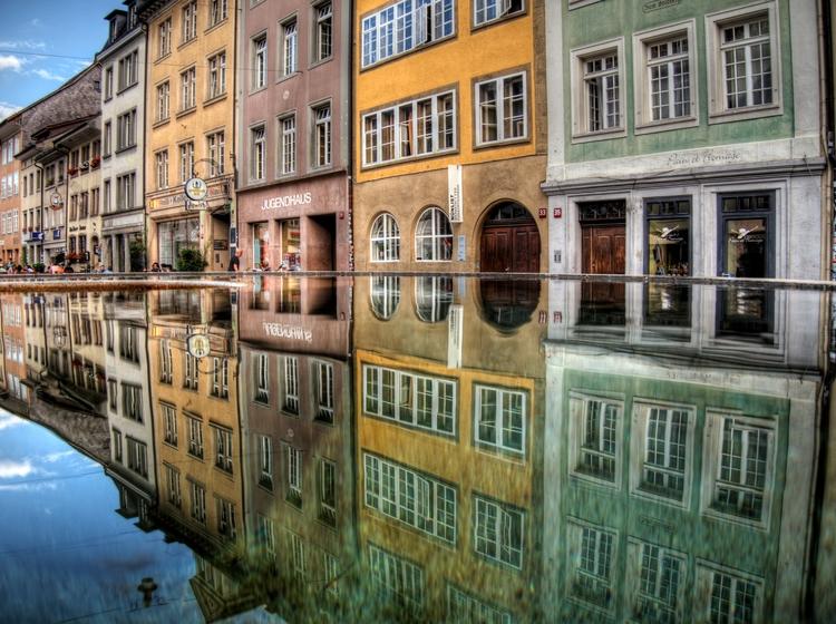 reflections Winterthur, streets - neilhoward | ello