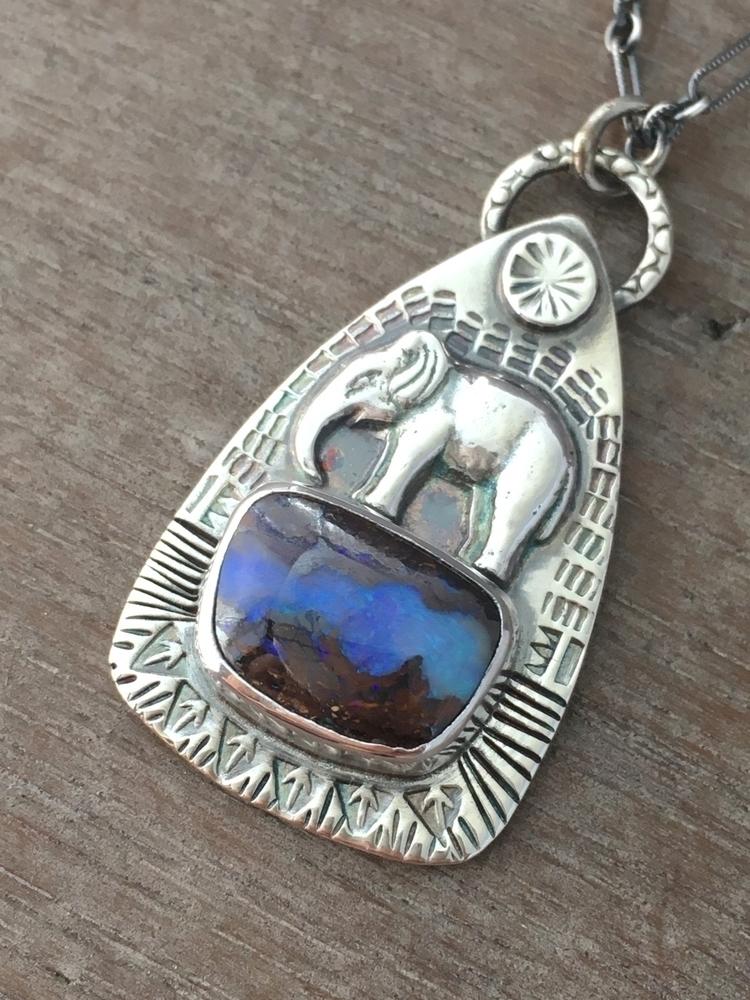 elephant Opal waterhole - opal, koroit - proxartist | ello