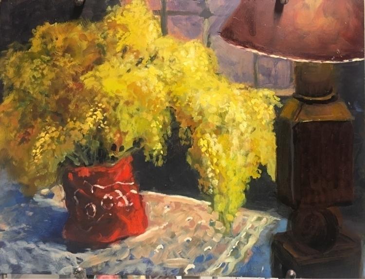 Posting previous works RISD - oil - yuliavirko | ello