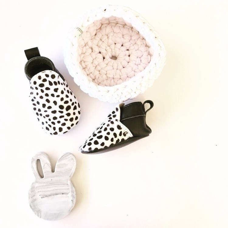 Dalmatian boot Moccasin. popula - mocked | ello