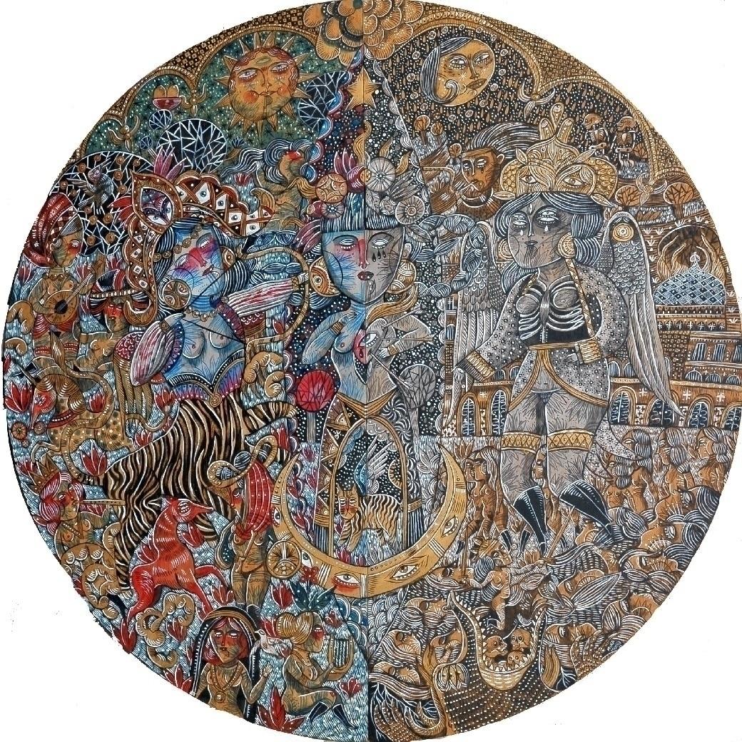 Tondo Gate 120cm diameter Solo  - minamond | ello
