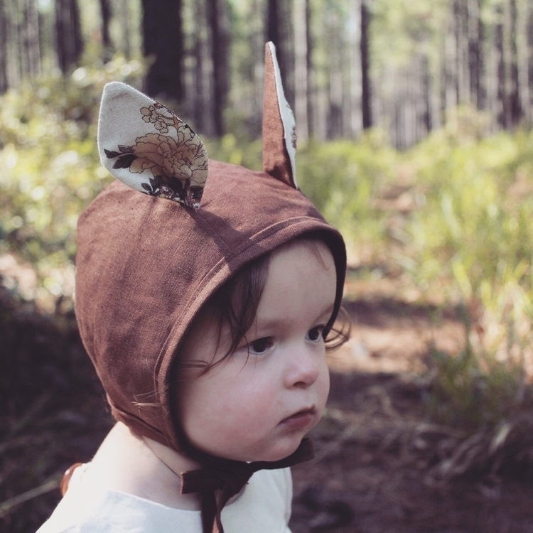 Sweet Evie wearing Bambi Linen  - indiandarrow | ello