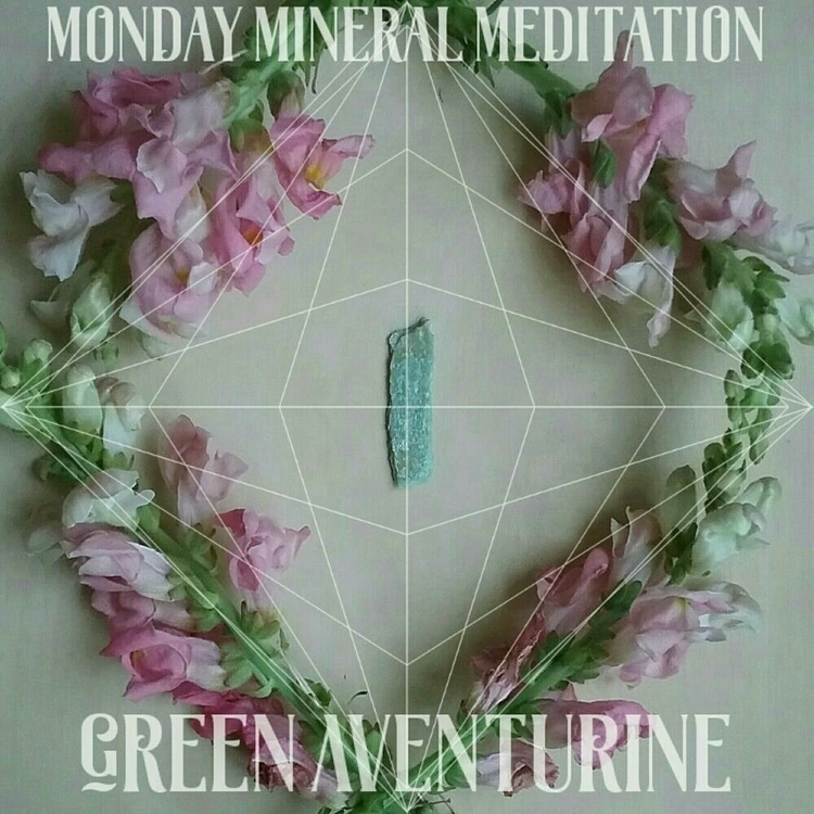 Monday Mineral Meditation - Gre - sacredservicereiki | ello
