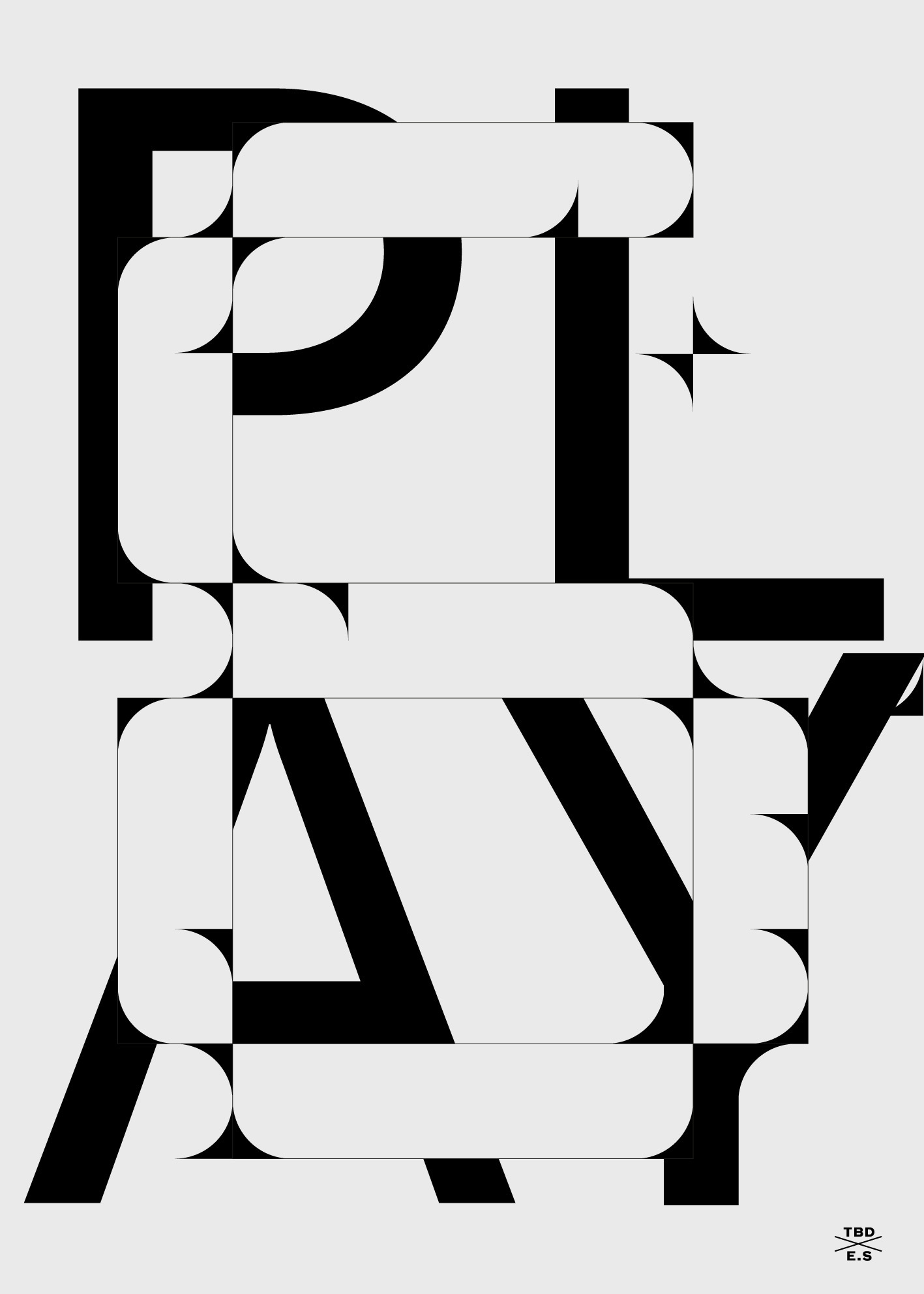 TBDxES playlist June Enjoy  - typography - strouzas | ello