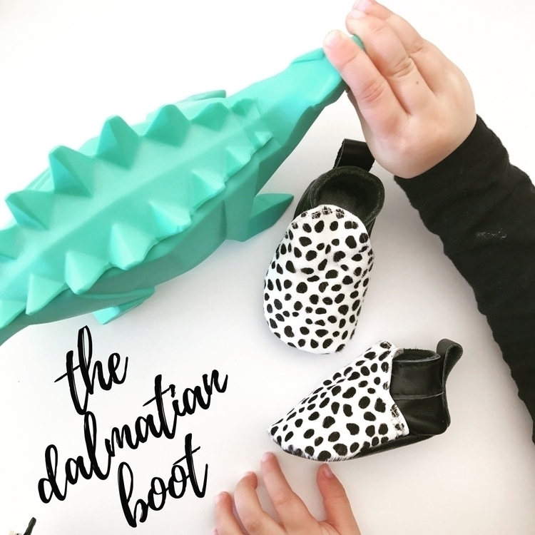 officially LIVE. Dalmatian Boot - mocked   ello