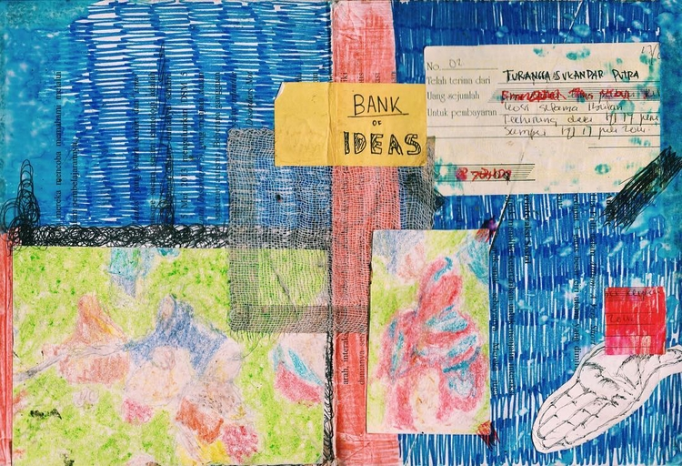BANK IDEAS love ignore.... idea - ranggasme | ello