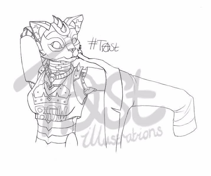 Tap colour. Character Design: A - anarchyontoast   ello