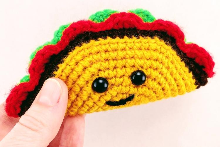 Happy hugged Tiny Tasty Taco to - miniaturemonkeycreations | ello