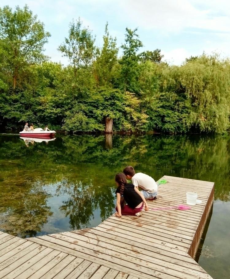 crimea, simpheropol, pond, boat - kormin | ello