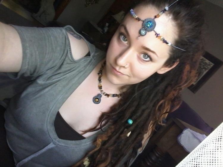 SOLD - headdress, jewelry, chakra - artbydevinashleigh | ello