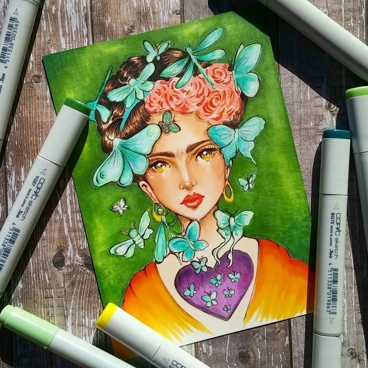 July month - fridakahlo, frida, fridakahloinspired - sleepykoi | ello