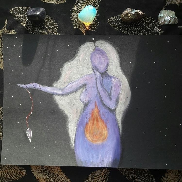 Karma Goddess - goddess, goddessart - opheliadivine | ello