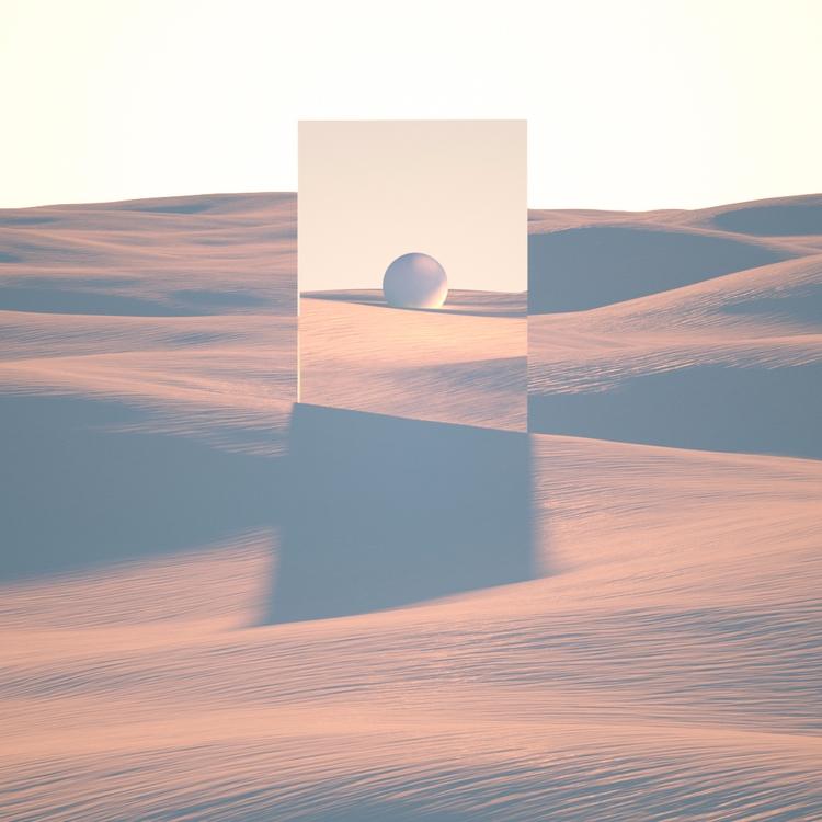 Dunes - art, cinema4d, digitalart - grayalas | ello