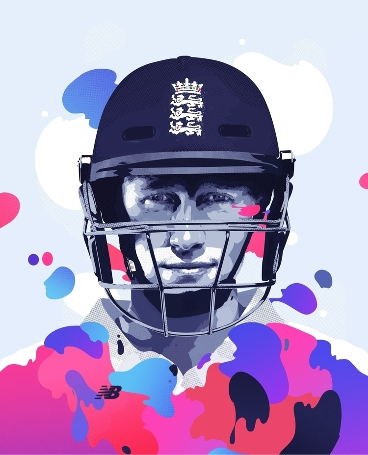 Joe Root portrait Pro:Direct co - bramvanhaeren | ello