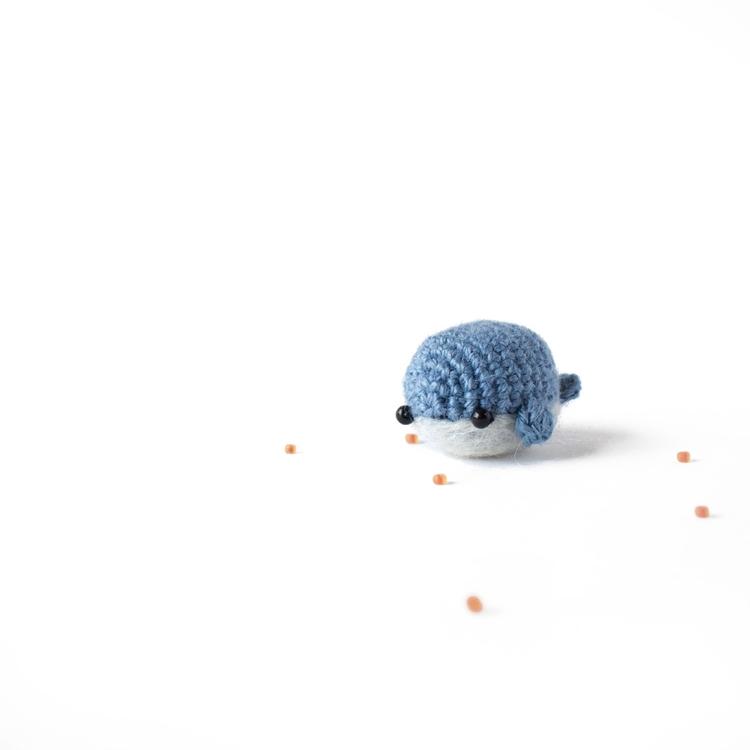 Amigurumi day 19 - tiny blue wh - mohu | ello
