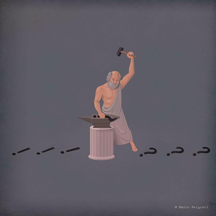 Socrates Doubt Maker - socrates - marcomelgrati | ello