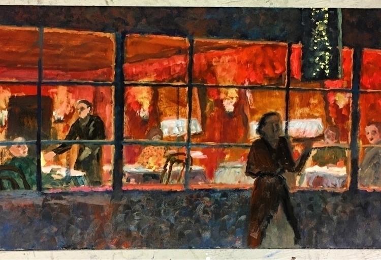 oil, portraits, figures, colour - yuliavirko | ello