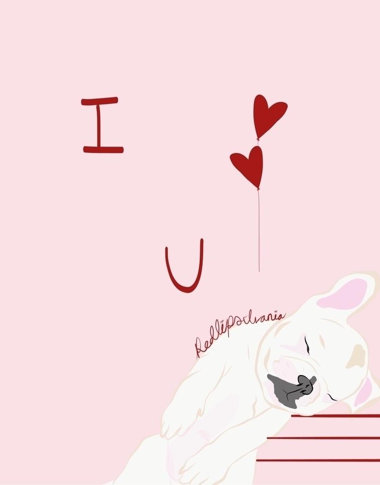 Lean - art, illustration, loveyou - redlipsivania | ello